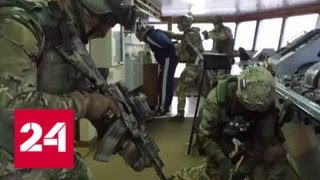 В Средиземном море прошли совместные учения спецназа, моряков и авиации - Россия 24