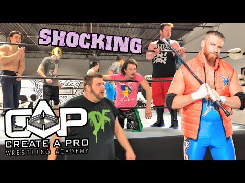 CURT HAWKINS SAVES GTS! - Grim vs Clash for CREATE A PRO Championship! Wrestling School LIVE EVENT!
