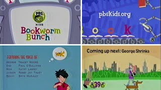 PBS Kids Bookworm Bunch Close (2003 WFWA-TV)