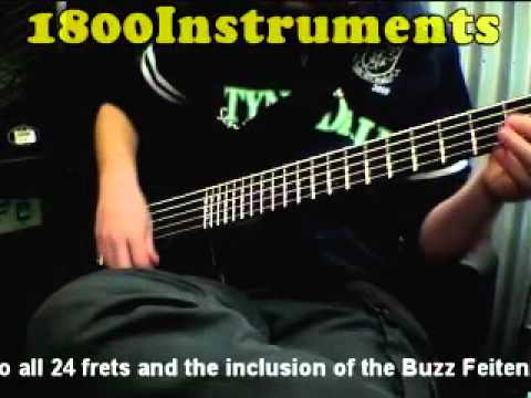 Washburn CB50PRO Play Funk Pop n Slap style Electric Bass Guitar
