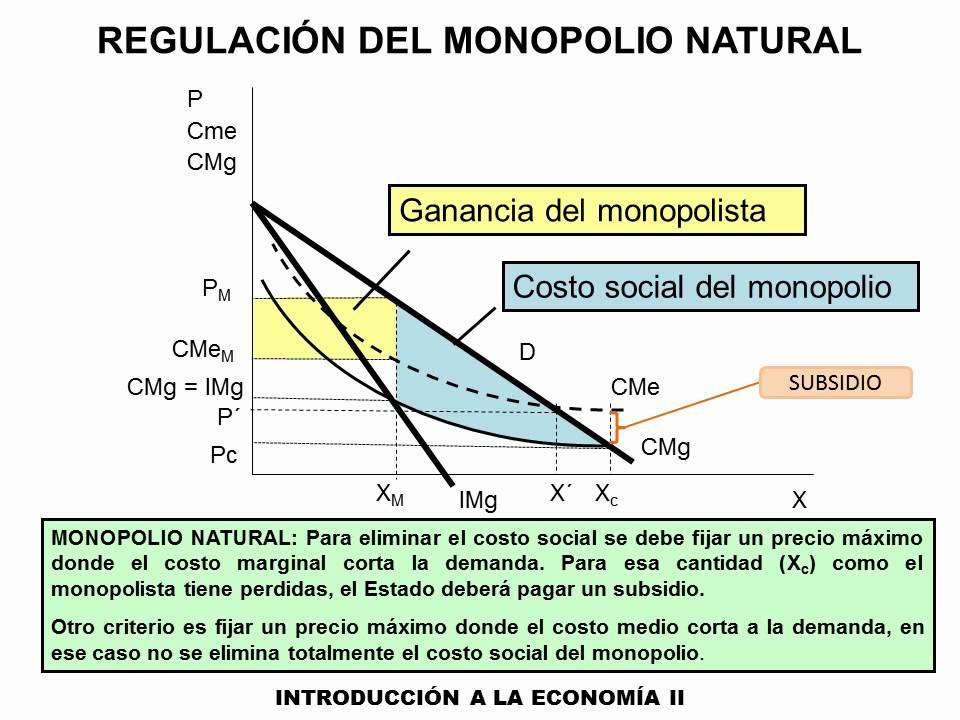 20-Regulacion del monopolio natural - YouTube