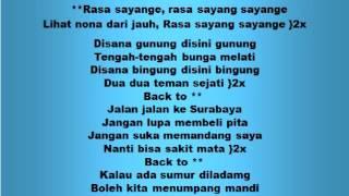 Download Lagu Lagu dan Tari Nusantara: RASA SAYANGE - Lagu Anak Gratis STAFABAND