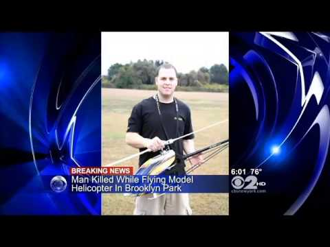 Man, 19, Killed By Remote Controlled Helicopter