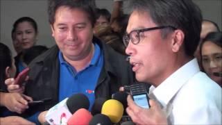 Roxas, Romualdez face off at Senate