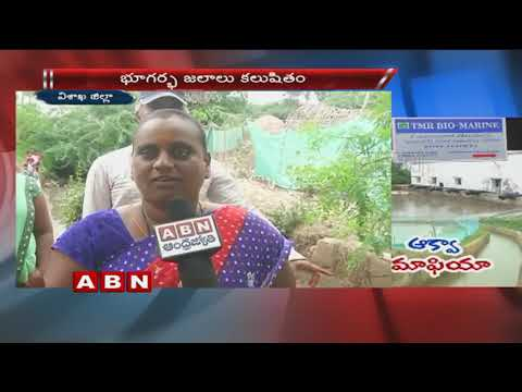 People facing problems with Shrimp ponds due to releases Contaminated water | Visakha district