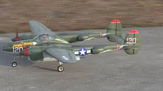 George's Composite Aircraft: P-38 and F7F flights 3.31.18