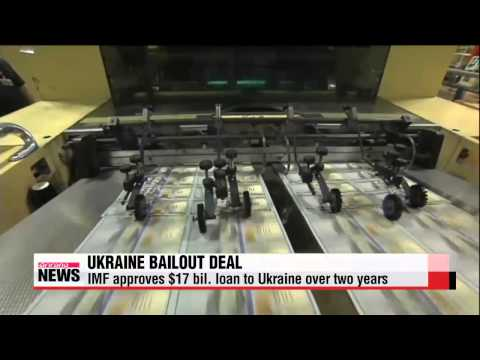 IMF approves $17 bill. load deal for Ukraine