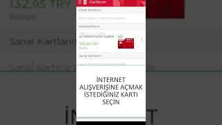 Ziraat Bankası Kartını İnternet Alışverişine Açma (Ziraat Mobil)