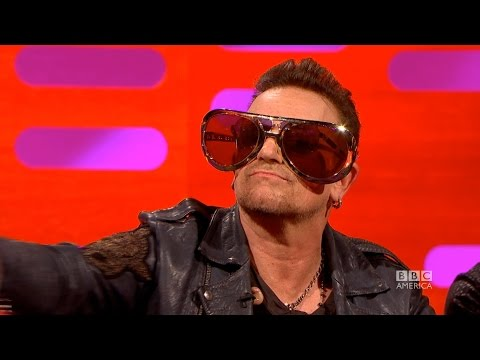 Why U2's Bono Wears Sunglasses - The Graham Norton Show on BBCAmerica