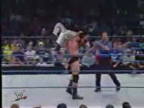 Rey Mysterio Vs. Brock Lesnar And Big Show Interrupts video