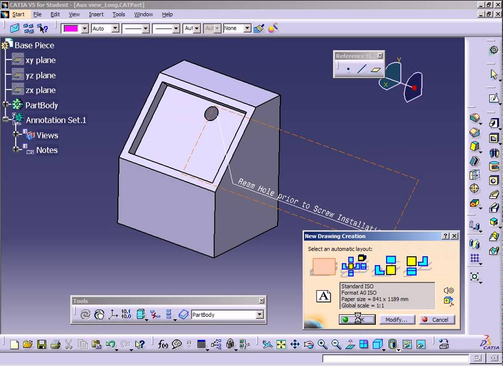how to make an exploded view of an assembly catia