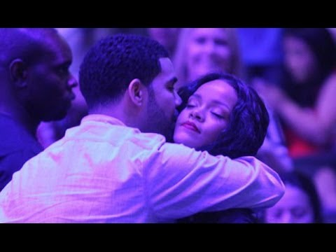 Drake & Rihanna Sexy PDA During Clippers Game klip izle