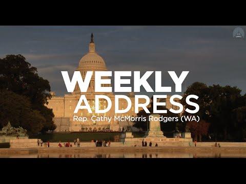 Weekly Address: Cathy McMorris Rodgers (WA)