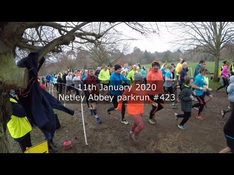 Netley Abbey parkrun #423 - January 18th 2020 (fast)