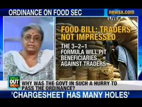 Speak Out India: Government clears ordinance over Food Security Bill