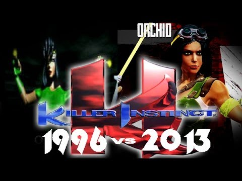 Killer Instinct 1996 vs  2013 comparison