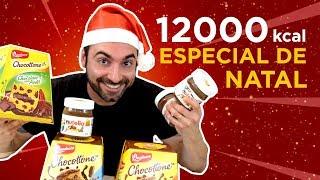 Panetones com 1kg Nutella, 12000 kcal! [Especial de Natal]