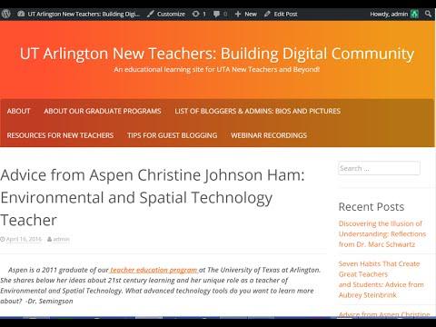 Guest Blogging for UTA New Teacher and UTA Literacy Blog(s)!