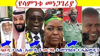 [የሳምንቱ መነጋገሪያ] ሳዑዲ * ሙጋቤ * መንግስቱ * አሕመዲን - Weekly Topics - Saudi Mugabe Mengistu Ahemedin - DW