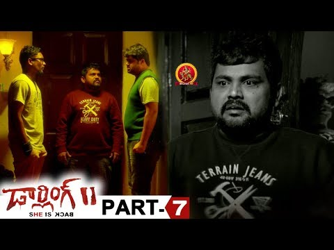 Darling 2 Full Movie Part 7 - 2018 Telugu Horror Movies - Kalaiyarasan, Rameez Raja, Maya