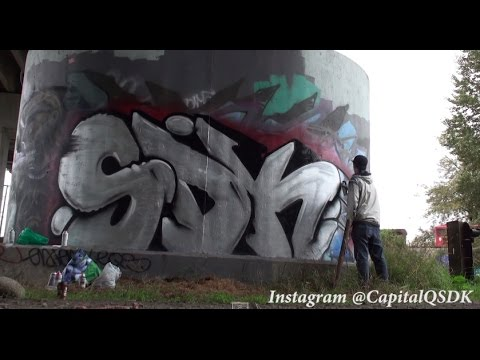 Graffiti - EXTRAS - A day out with the boys Fester, Naks, Lesen