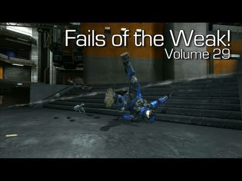 Fails of the Weak: Ep. 29 - Funny Halo 4 Bloopers and Screw Ups! | Rooster Teeth