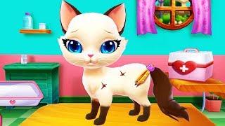 Chơi Trò Chơi, Tắm Và Chọn Áo Đẹp Cho Bạn Mèo Lông Màu Kem Socola – Game Thú Cứng Vui Nhộn