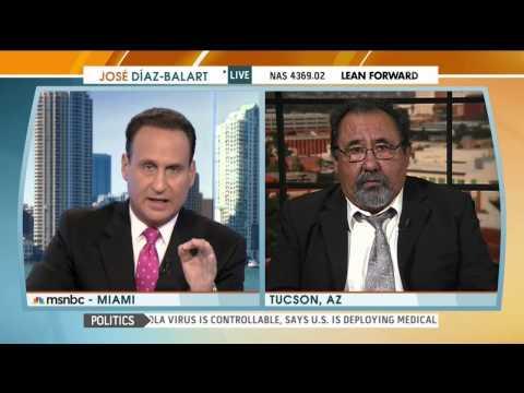 Rep. Grijalva Discusses Immigration Reform with Jose Diaz Balart