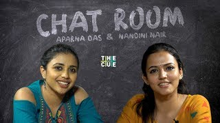 Aparna Das and Nandini | Chat Room | Manoharam Movie | The Cue