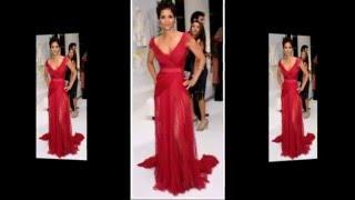 Самые шикарные красные платья на красной ковровой дорожке