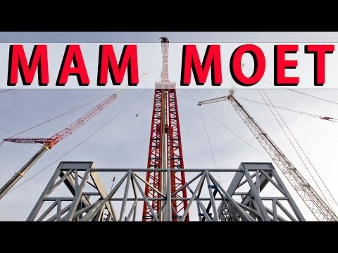 Mammoet Crane Heavy Lift Bilfinger Mars Offshore Szczecin