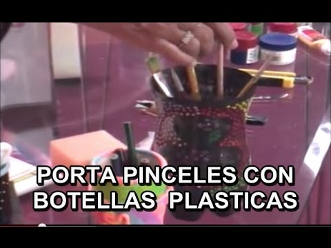 RECICLADO BOTELLA PET PORTA LAPIZ 30