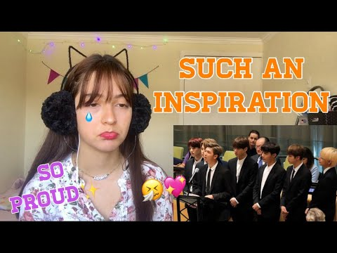 BTS (방탄소년단) Speech United Nations UNICEF Event  ll REACTION~♡