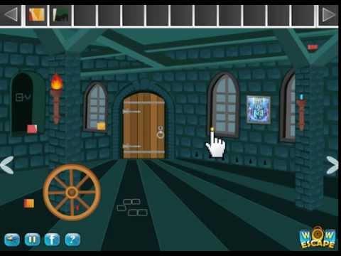 WOW Manor Escape, Wow Escape Games, Walkthrough,
