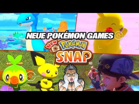 Neue Pokémon Spiele angekündigt! 😱 New POKÉMON SNAP | Nintendo Pressekonferenz
