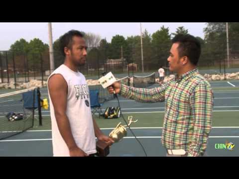 Chin Community of Indiana Men's Singles Tennis Champion,2015
