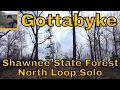 Shawnee State Forest Backpacking Trail North Loop Solo