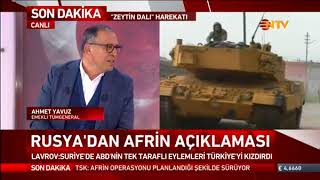 ABD'den Afrin açıklaması
