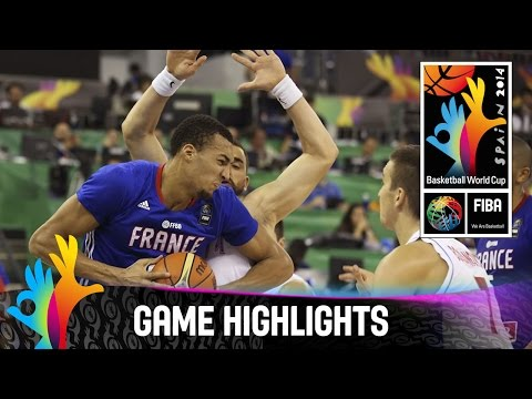 Serbia v France - Game Highlights - Group A - 2014 FIBA Basketball World Cup
