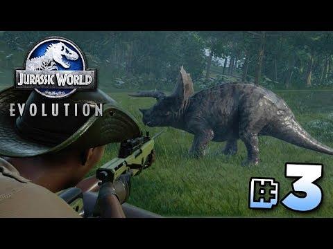 THE GREAT DINOSAUR ESCAPE! - Jurassic World Evolution   Ep3