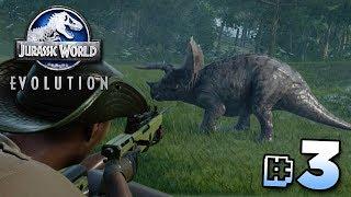 THE GREAT DINOSAUR ESCAPE! - Jurassic World Evolution | Ep3