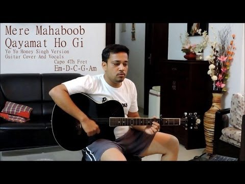 Mere Mahaboob Qayamat Hogi- Guitar Cover video