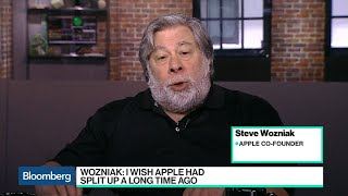 Steve Wozniak Says Apple Should've Split Up a Long Time Ago, Big Tech Is Too Big