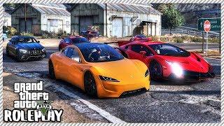 GTA 5 Roleplay - 2020 Tesla Roadster 'EMBARRASSES' Supercars | RedlineRP #586