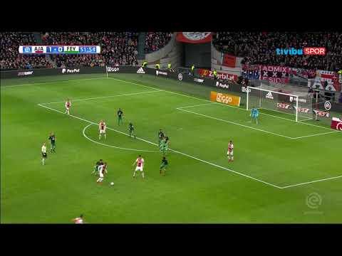 Hollanda Ligi 19. hafta | Ajax 2 - 0 Feyenoord Maç özeti