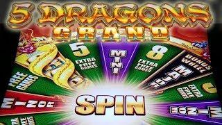 **Super Big Win**,  **5 Dragon Grand**!! Short and Sweet!!