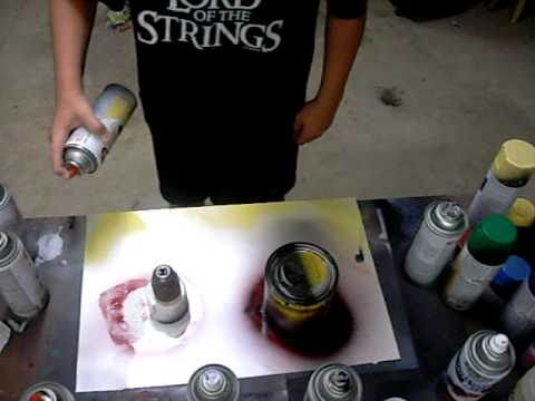 spray paint art for beginners youtube. Black Bedroom Furniture Sets. Home Design Ideas