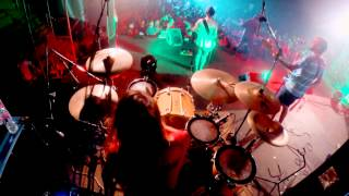 El pasado. Corto plazo. (drum camera. Live at Summer camp)