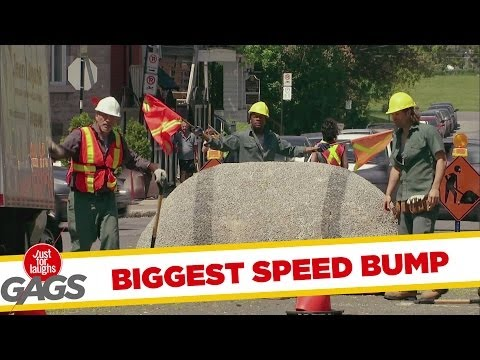 World's Biggest Speed Bump