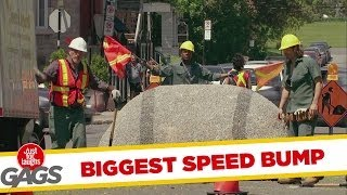Worlds Biggest Speed Bump